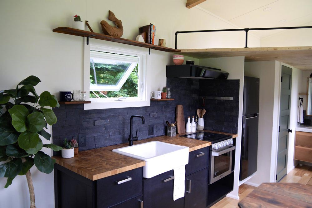 Black Kitchen Cabinets - Topanga by Handcrafted Movement