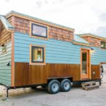 Carrie's 28′ Gooseneck Tiny House by Mitchcraft Tiny Homes