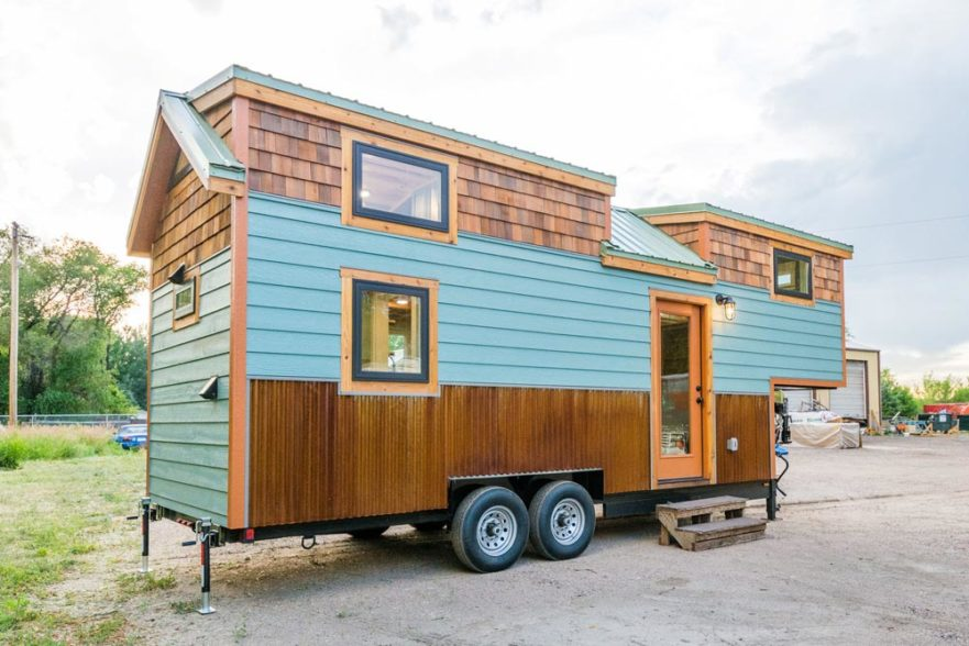 Carrie's 28' Gooseneck Tiny House by Mitchcraft Tiny Homes