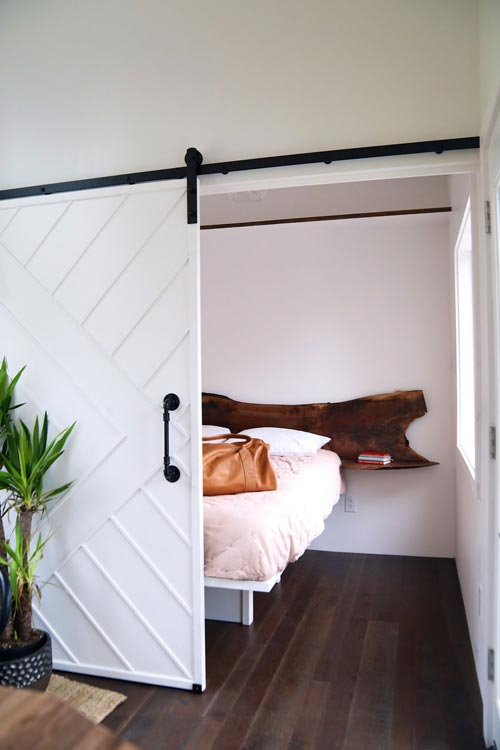 Bedroom w/ Barn Door - Columbia Craftsman by Handcrafted Movement