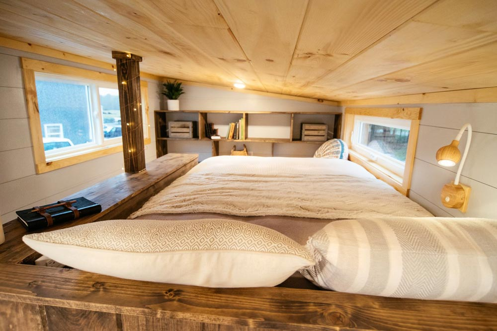 Bedroom Loft - Lykke by Wind River Tiny Homes