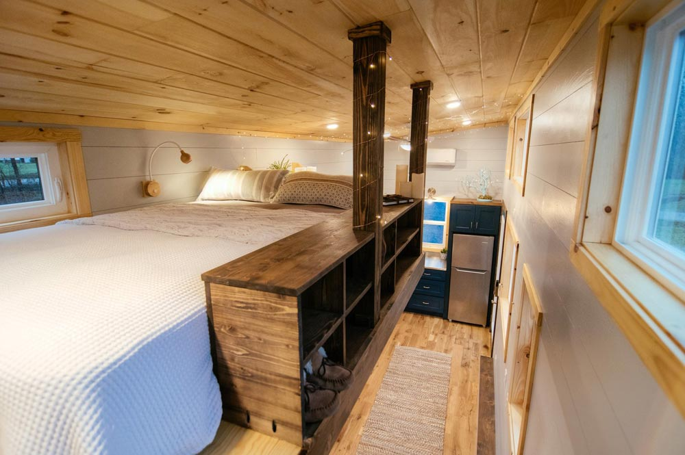 Bedroom Storage - Lykke by Wind River Tiny Homes