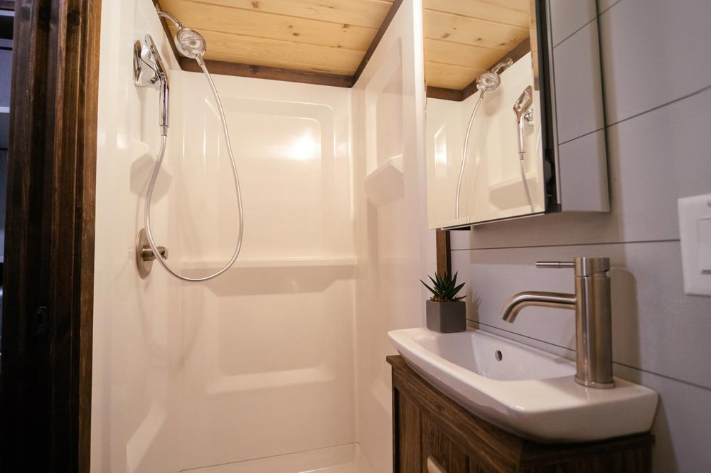 Shower & Sink - Lykke by Wind River Tiny Homes