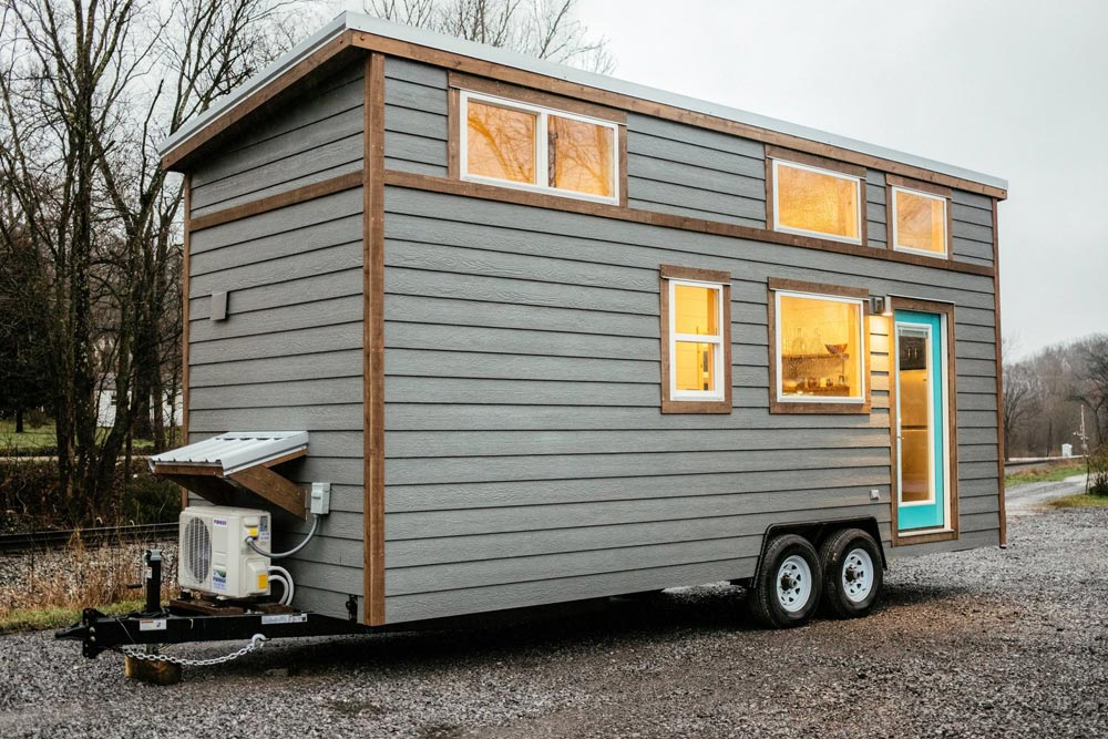 Gray Siding - Lykke by Wind River Tiny Homes