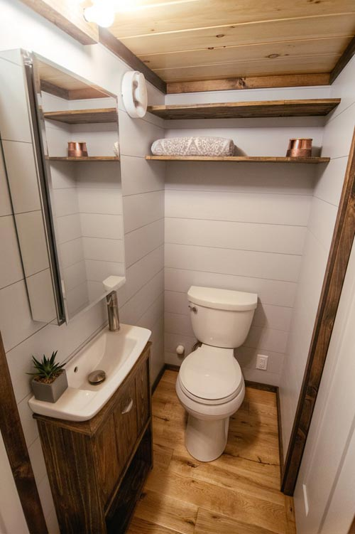 Bathroom - Lykke by Wind River Tiny Homes