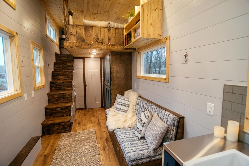 Living Room - Lykke by Wind River Tiny Homes