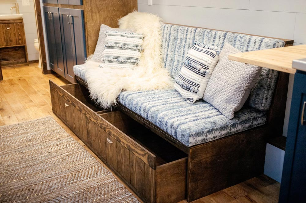 Couch Storage - Lykke by Wind River Tiny Homes