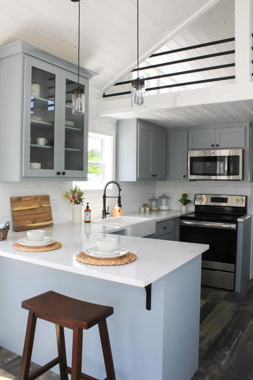 Kitchen - Zion by Mustard Seed Tiny Homes