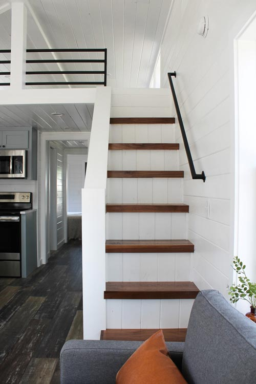 Loft Stairs - Zion by Mustard Seed Tiny Homes