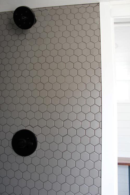 Tile Shower - Zion by Mustard Seed Tiny Homes