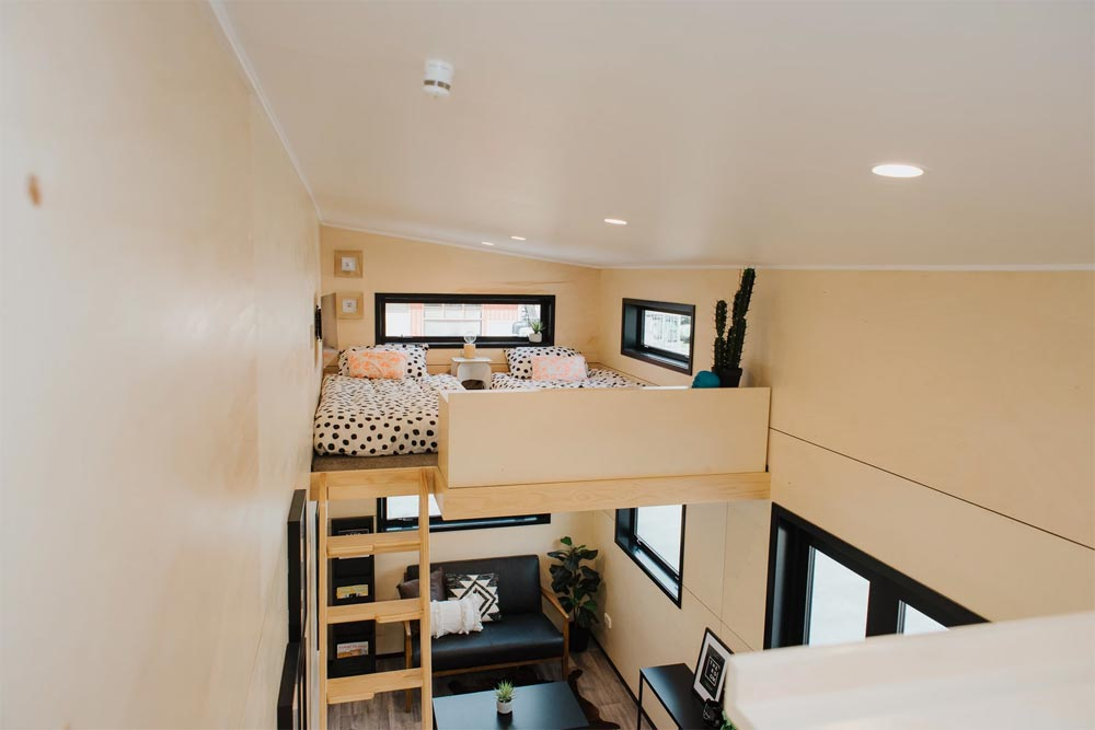 Twin Loft - Kingfisher Tiny House by Build Tiny