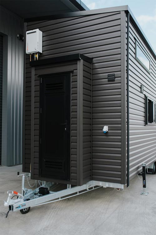 Exterior Cladding - Kingfisher Tiny House by Build Tiny