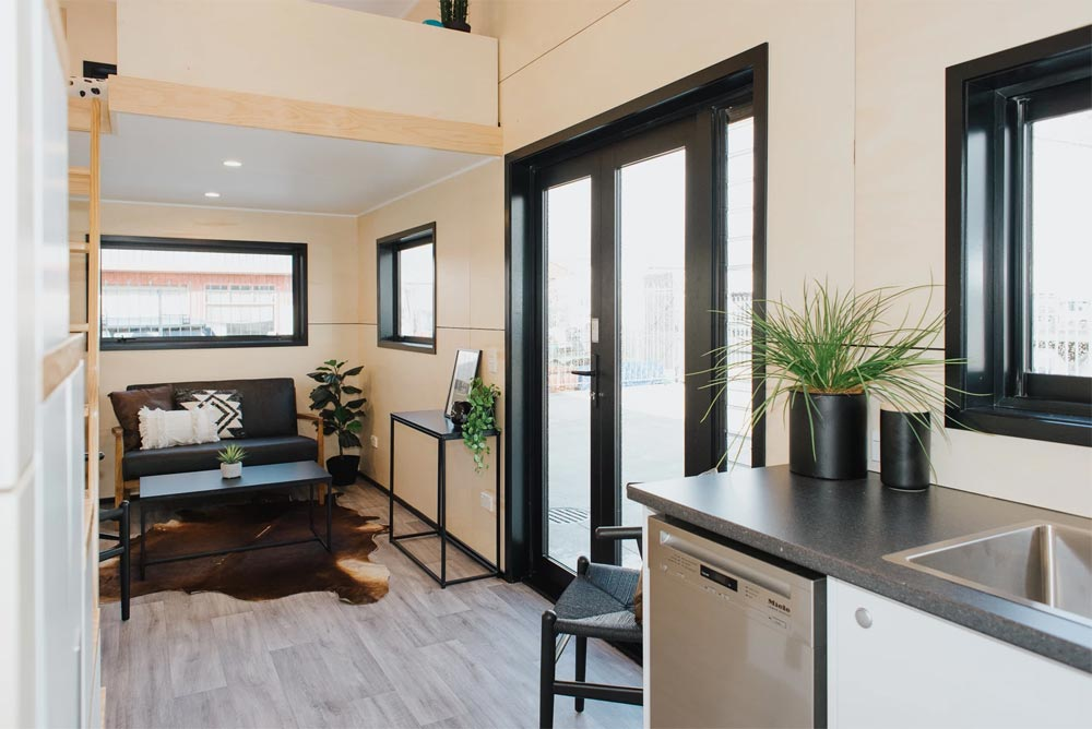 Entryway - Kingfisher Tiny House by Build Tiny