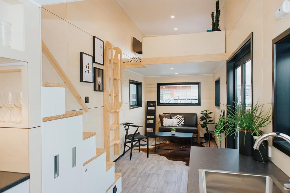 Open Floor Plan - Kingfisher Tiny House by Build Tiny