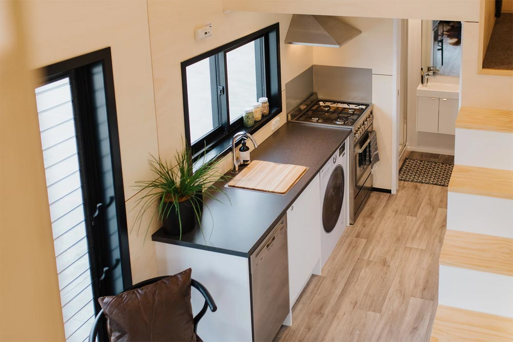 Kitchen Counter - Kingfisher Tiny House by Build Tiny