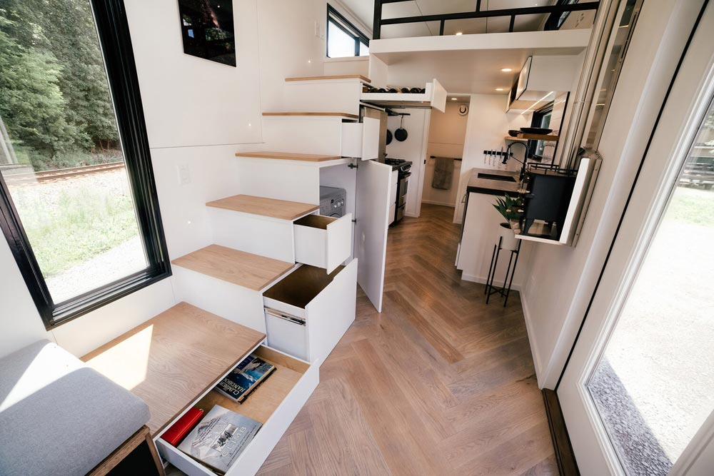 Abundant Storage Space - Kubrick by Wind River Tiny Homes