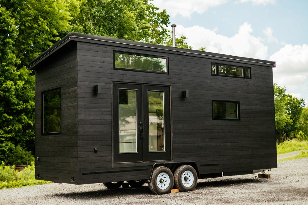 Modern Minimalist Exterior - Kubrick by Wind River Tiny Homes