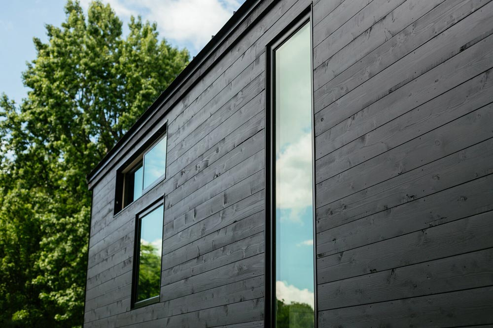 Solid Black Exterior - Kubrick by Wind River Tiny Homes