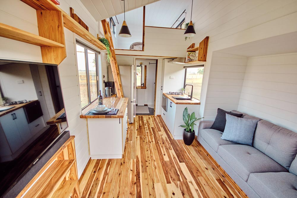 Interior View - Little Sojourner by Häuslein Tiny House Co