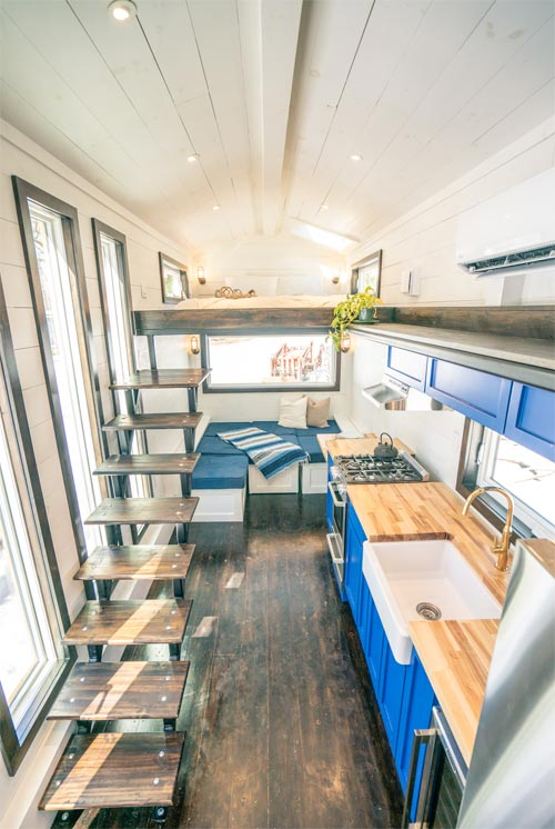 Aerial View - Ark by Willowbee Tiny Homes