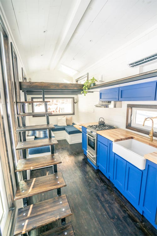 Floating Stairs - Ark by Willowbee Tiny Homes
