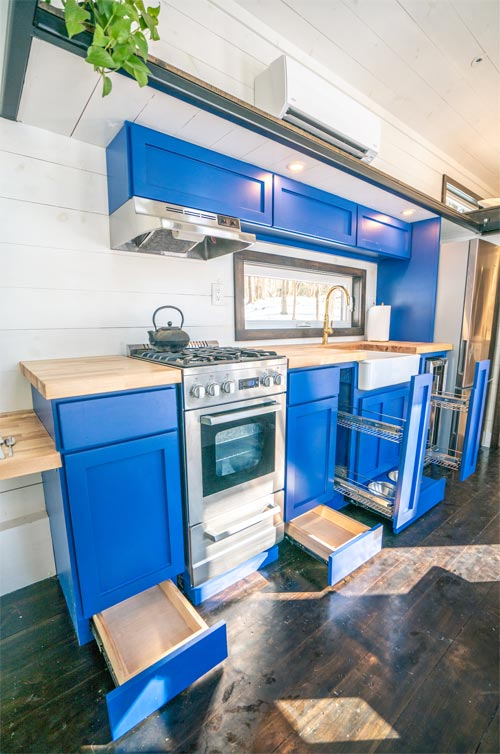 Kitchen Cabinets - Ark by Willowbee Tiny Homes