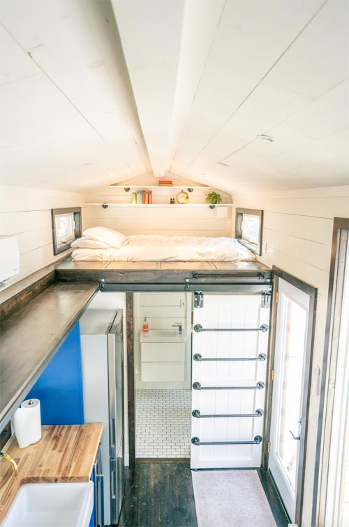 View From Loft - Ark by Willowbee Tiny Homes
