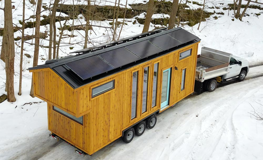 Solar Panels - Ark by Willowbee Tiny Homes