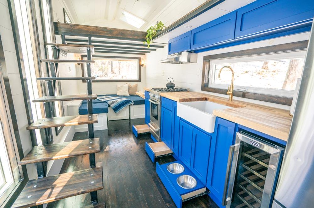 Toe-Kick Cabinets - Ark by Willowbee Tiny Homes