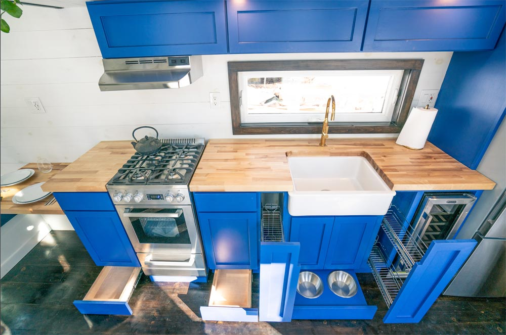 Lots of Storage - Ark by Willowbee Tiny Homes