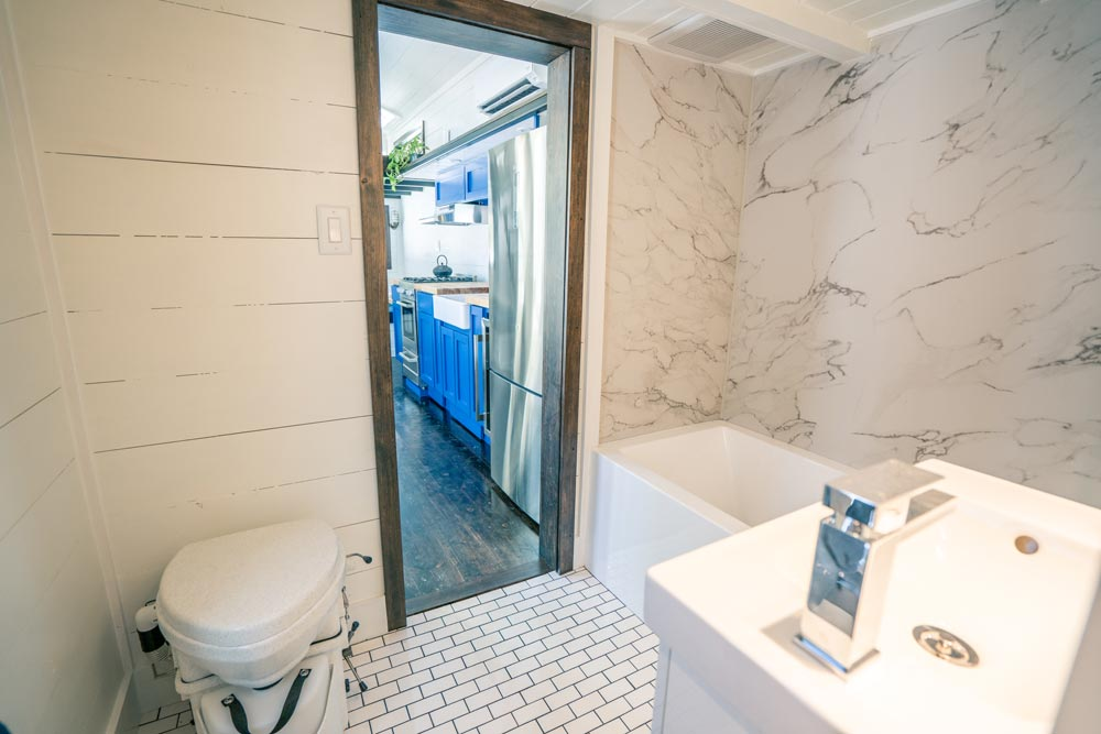 Large Bathroom - Ark by Willowbee Tiny Homes