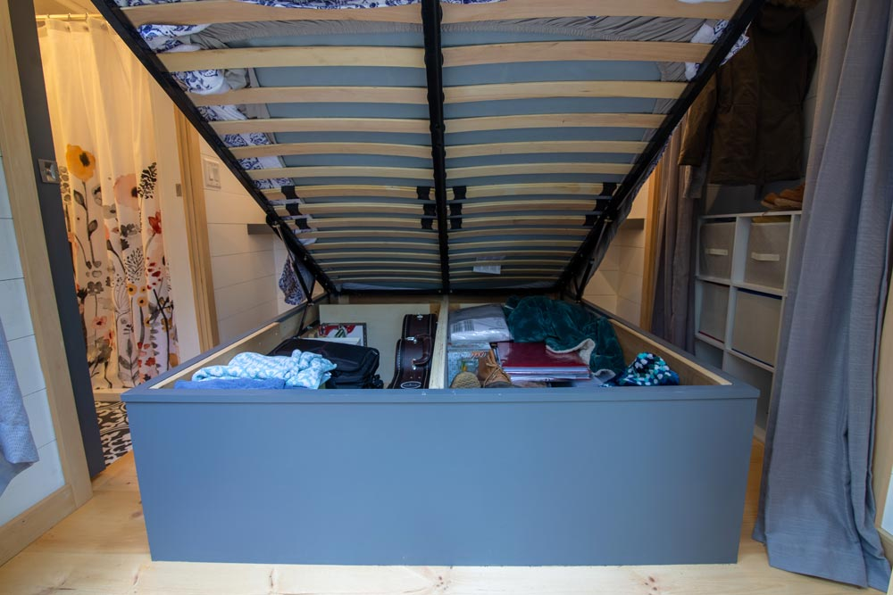 Under Bed Storage - Burmenbov by Willowbee Tiny Homes