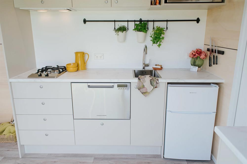 Kitchen Cabinets - Camper Tiny House by Build Tiny