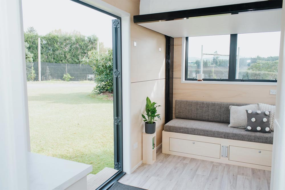 Entryway - Camper Tiny House by Build Tiny