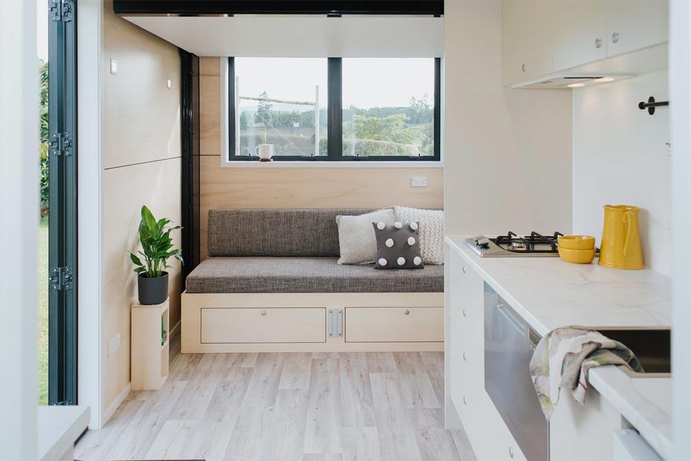 Custom Sofa Bed - Camper Tiny House by Build Tiny