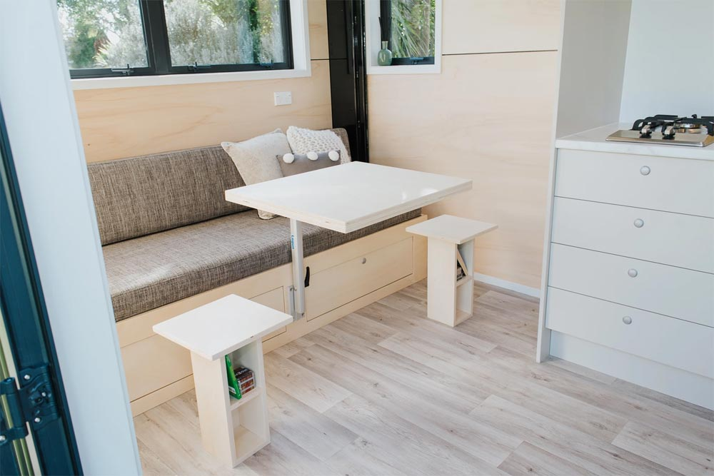 Table and End Tables - Camper Tiny House by Build Tiny