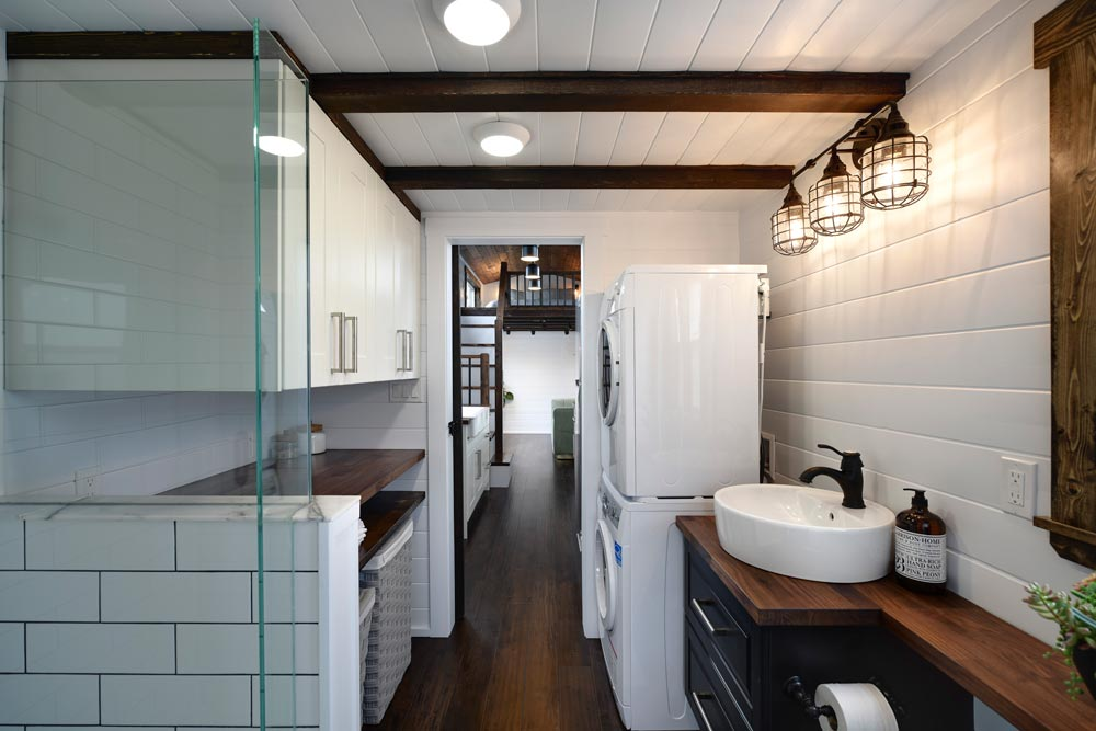 Glass/Tile Shower - Canada Goose by Mint Tiny Homes