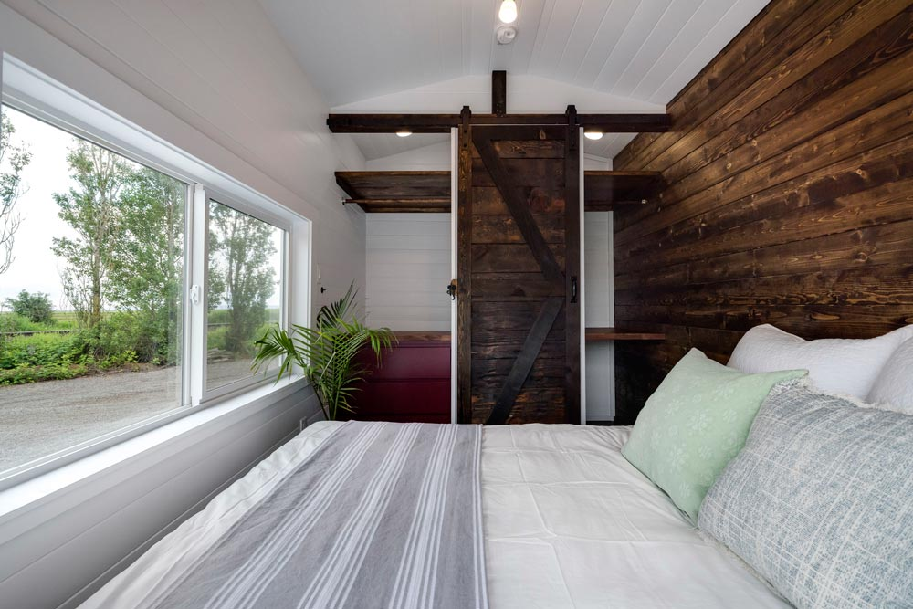 Bedroom Over Gooseneck - Canada Goose by Mint Tiny Homes