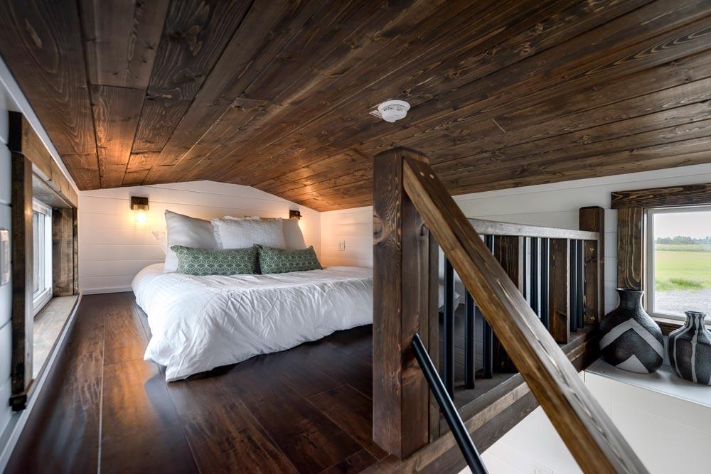 Bedroom Loft - Canada Goose by Mint Tiny Homes