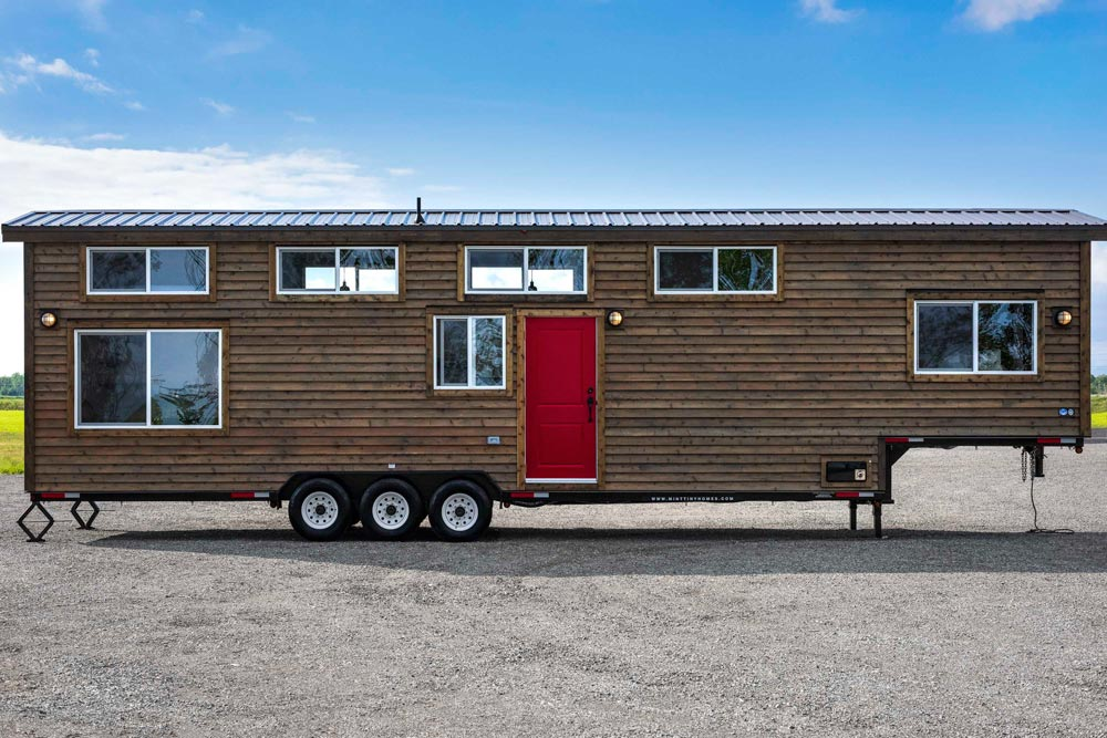 All Wood Siding - Canada Goose by Mint Tiny Homes