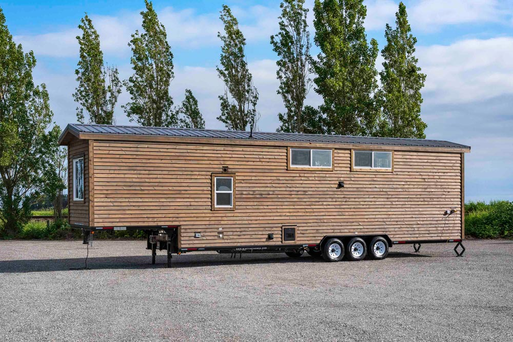 Rear View - Canada Goose by Mint Tiny Homes