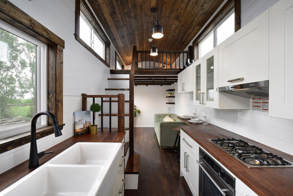 White Apron Sink - Canada Goose by Mint Tiny Homes