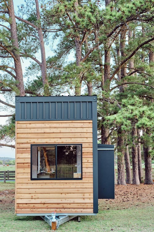 Metal & Wood Siding - Grand Sojourner by Häuslein Tiny House Co