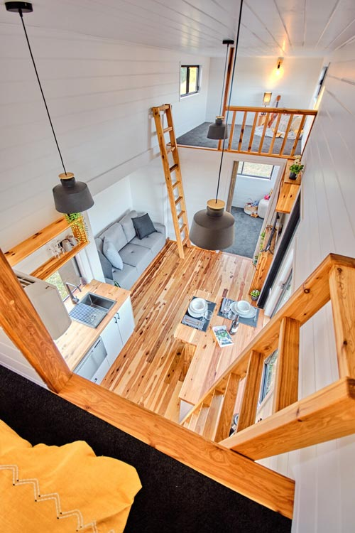 View From Loft - Grand Sojourner by Häuslein Tiny House Co