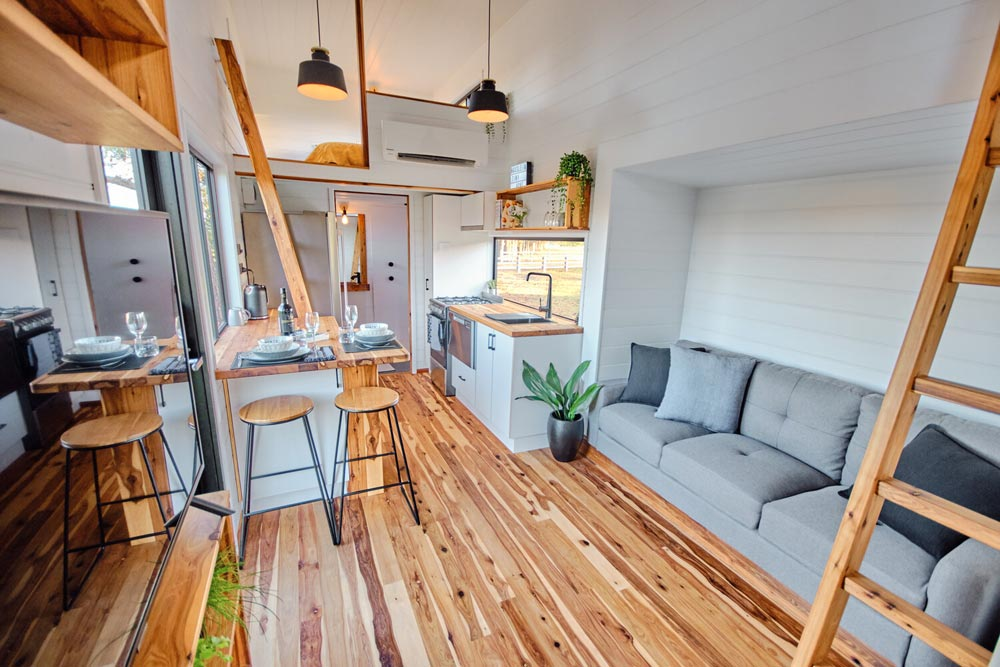 Living Room - Grand Sojourner by Häuslein Tiny House Co