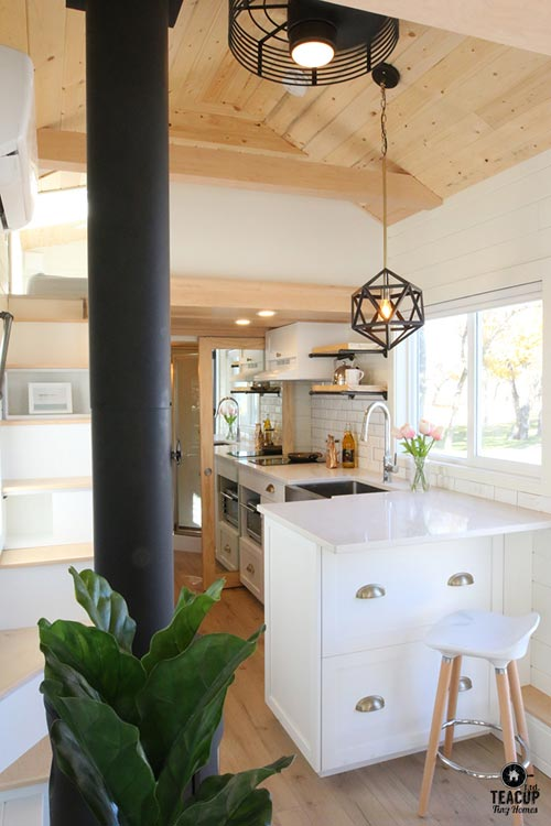 Interior View - Innisfree Anarres by Teacup Tiny Homes