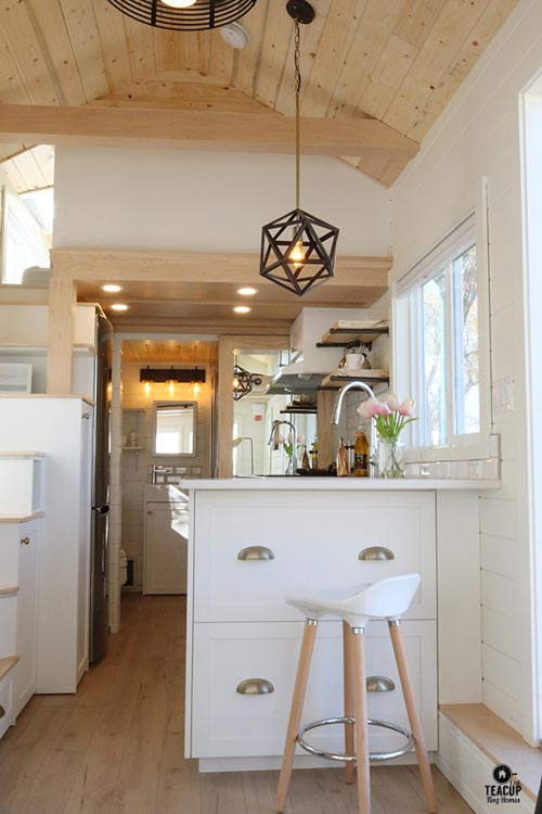 Eat-In Kitchen Bar - Innisfree Anarres by Teacup Tiny Homes