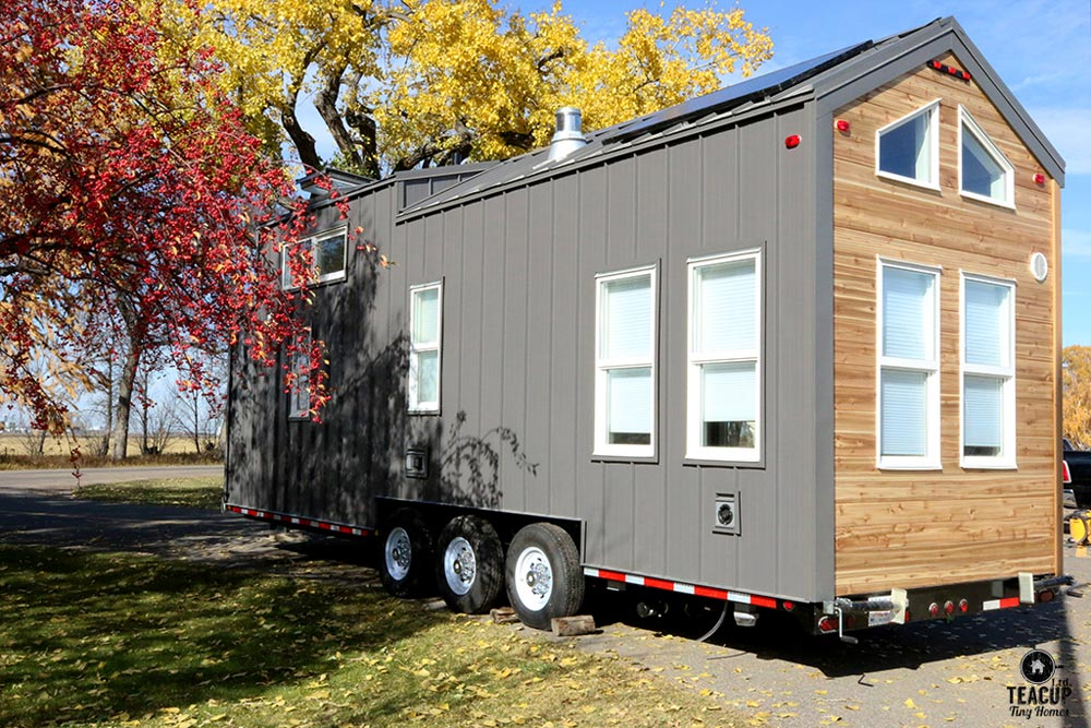 Exterior View - Innisfree Anarres by Teacup Tiny Homes