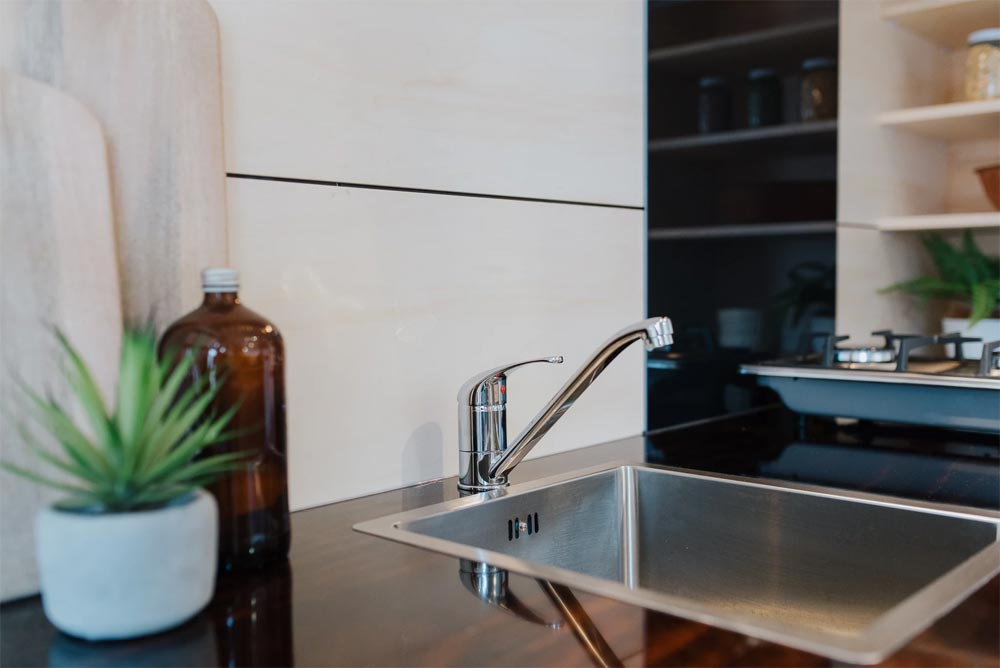 Plywood Countertops - Kahurangi Koinga by Build Tiny