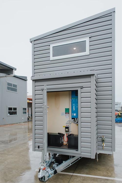 Solar Utility Closet - Kahurangi Koinga by Build Tiny